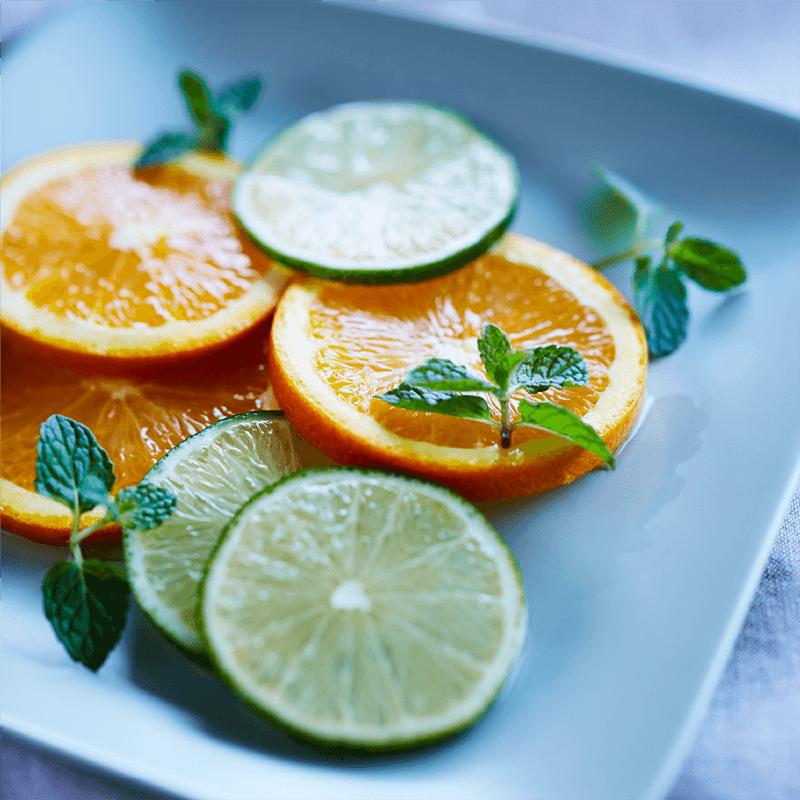 オレンジとライムのピクルス